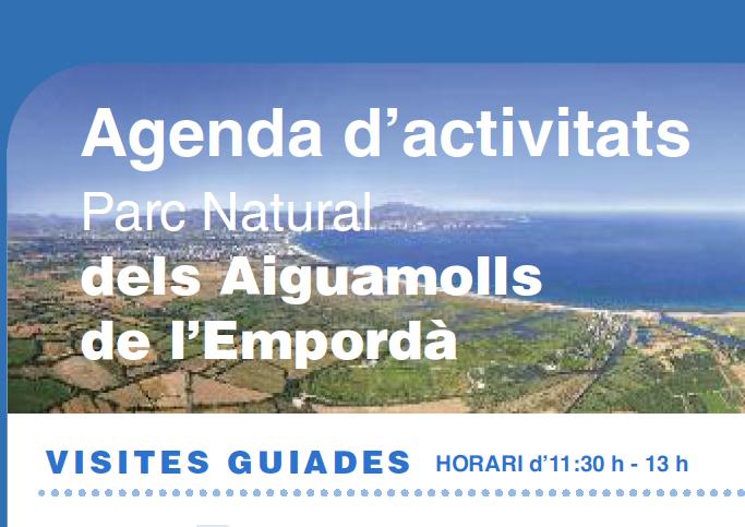 Agenda d'activitats Parc Natural dels Aiguamolls de l'Empordà