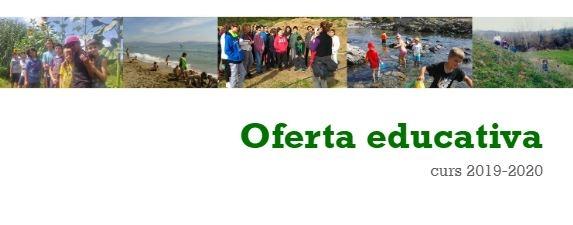 Catàleg d'activitats d'educació ambiental 2019-2020