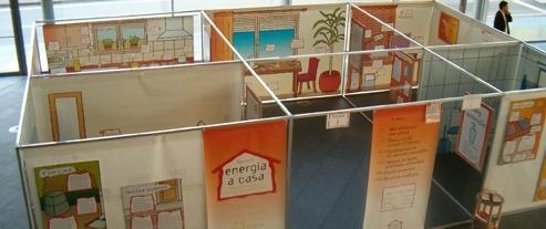 Exposició itinerant sobre eficiència energètica: